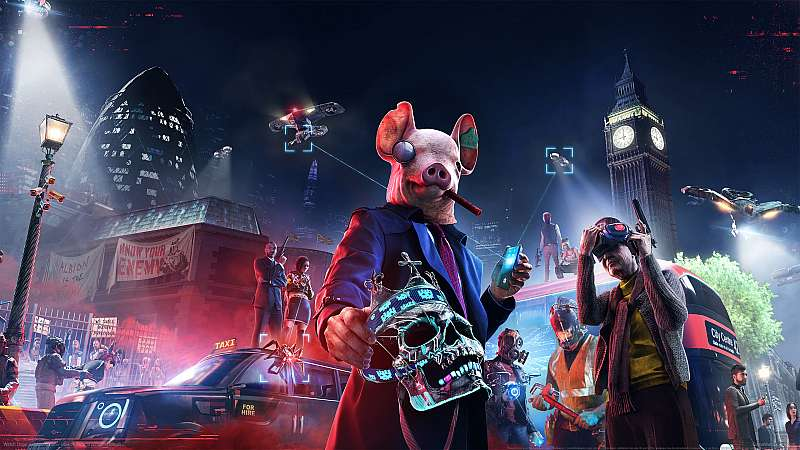 Watch Dogs: Legion fondo de escritorio