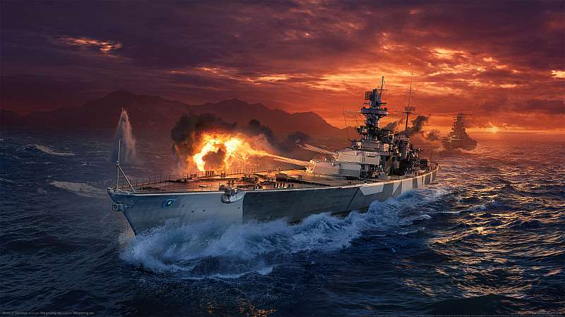World of Warships fondo de escritorio